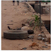 Photo : Dead Man Spotted Laying Along Agege Road In Lagos.