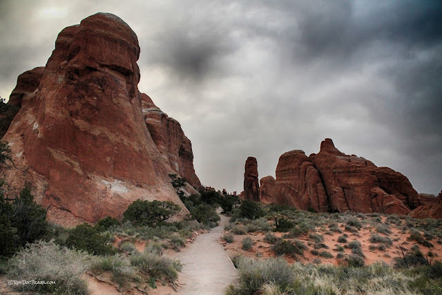Arches National Park Utah geology travel hiking camping outdoors recreation copyright RocDocTravel.com