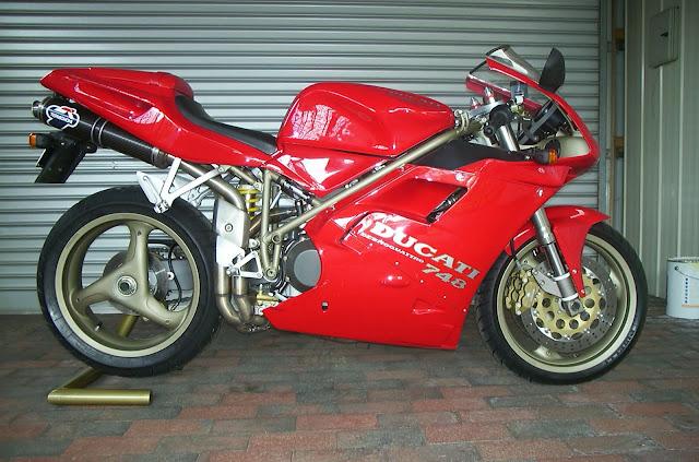 Ducati 748SP Ex-showroom price in india