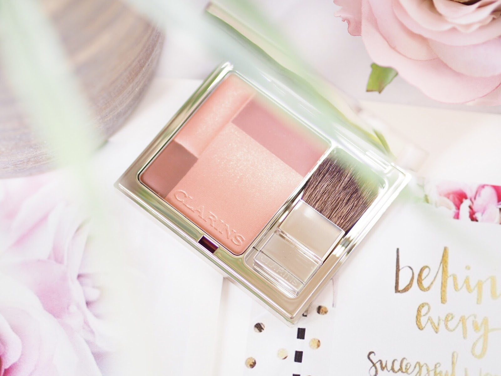 Clarins Blush, Clarins palette, Clarins blush review