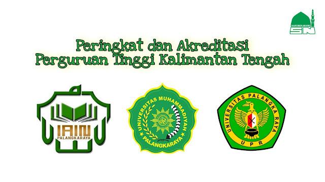Peringkat dan Akreditasi Perguruan Tinggi Kalimantan Tengah