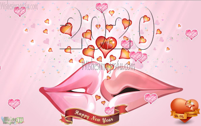 New Year 2020 Full HD Love Background Greetings for Lovers