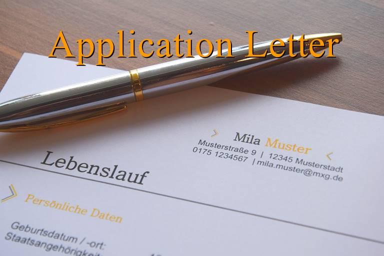 Materi Application Letter Fungsi Bagian Bagian Dan Contohnya Dimensi Bahasa Inggris
