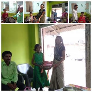 निशा कांवेंट हायर सेकंडरी स्कूल में गांधी जयंती मनाई
