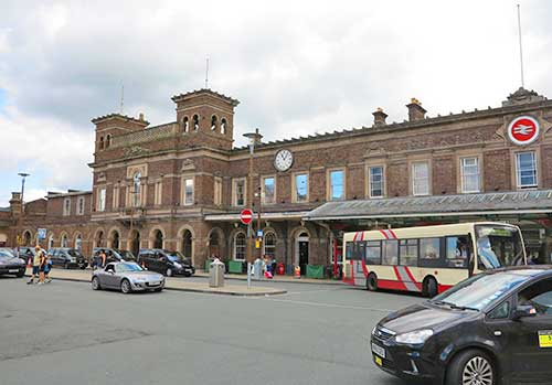 Chester Station, Chester, England.