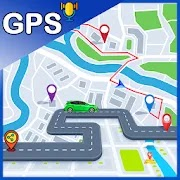 GPS Navigation-Voice Search & Route finder