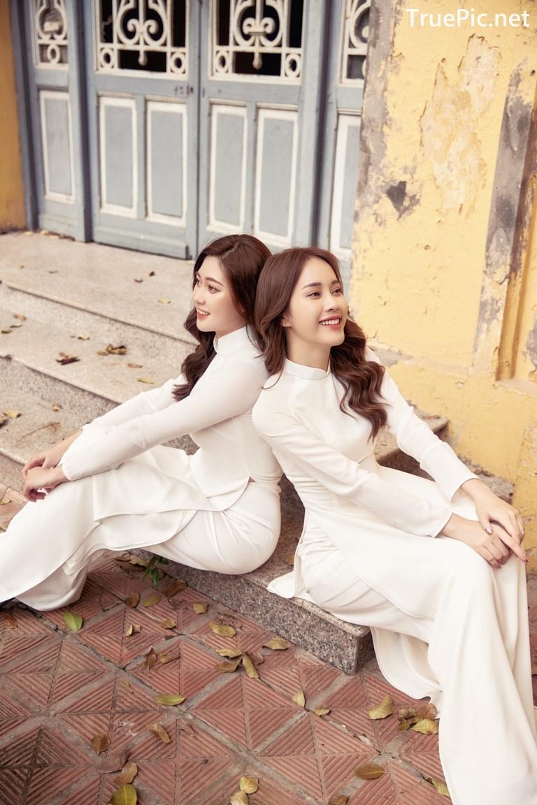 Image Vietnamese Model - Vietnamese Student Dresses (Ao Dai) - TruePic.net - Picture-9