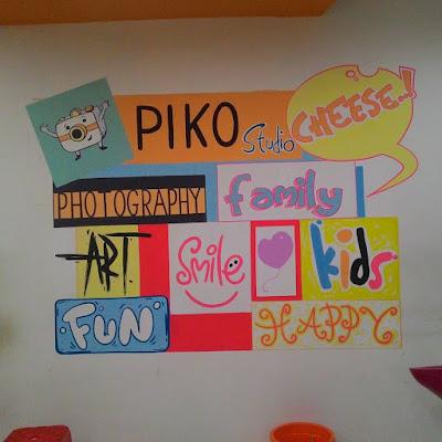 jasa mural, jasa wallpainting, wall painting lombok
