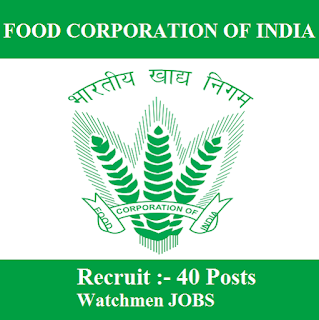 Food Corporation of India, FCI, Himachal Pradesh, HP, Watchmen, 10th, freejobalert, Sarkari Naukri, Latest Jobs, FCI Himachal Pradesh, fci himachal logo