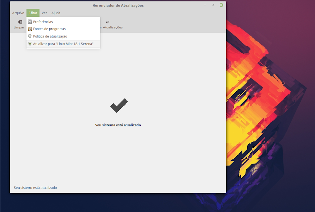 Atualizando o Linux Mint