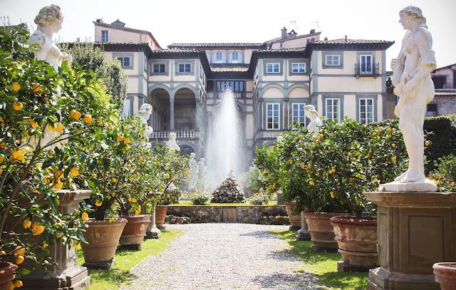 Palacio Pfanner en Lucca, Toscana