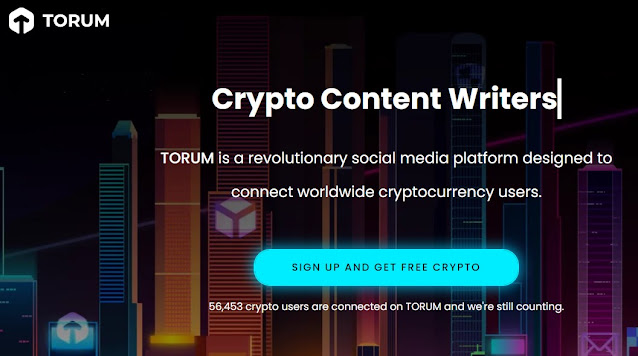 Post to Torum.com to Earn Free XTM Tokens