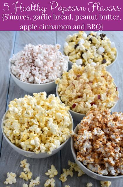 5 Healthy Popcorn Flavors