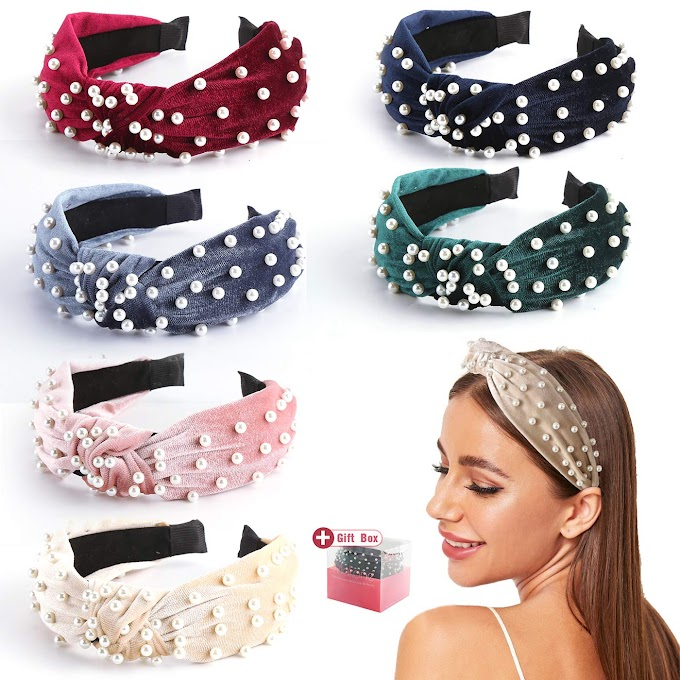 30% off Pearl Headbands for Women
