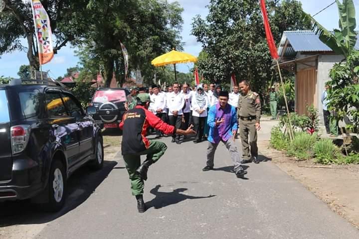 Musrenbang Kecamatan Belalau Diawali Dengan Arak-Arakan