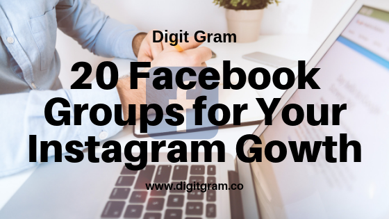 20 most active and engaging facebook groups for instagram growth