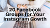 Instagram Growth Assistant: Must Join These 20 Facebook Groups