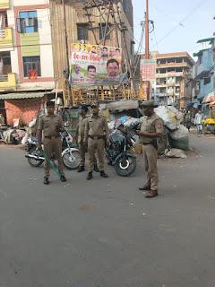 वीकेंड लॉकडाउन में अलर्ट पर रही पुलिस,हुआ लॉकडाउन का पूर्ण पालन