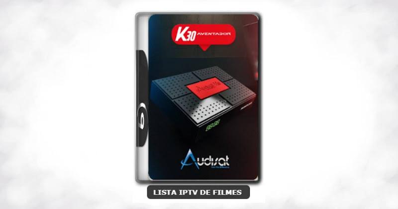 Audisat K30 aventador nova atualização V2.0.44 adicionado 61w
