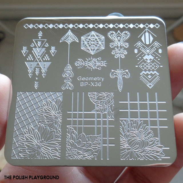 Born Pretty Store Geometry BP-X36 Stamping Plate Review