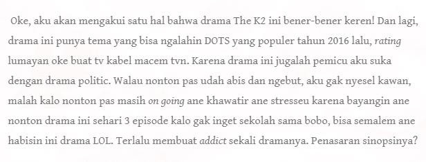 drama populer ji chang wook the k2