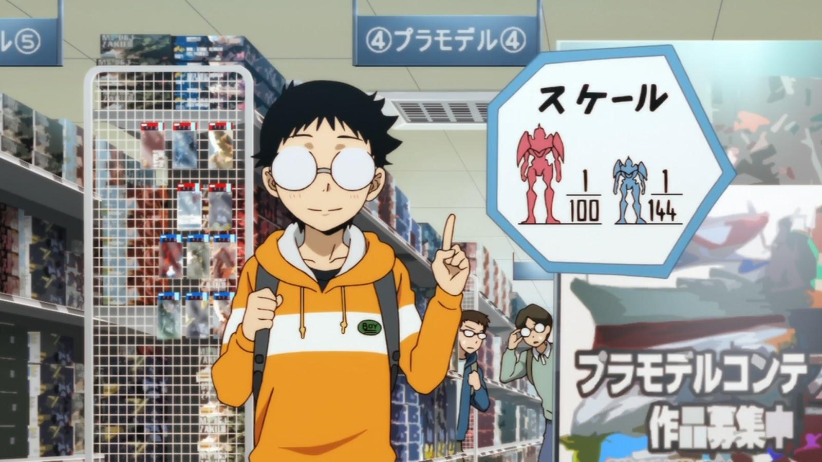 otaku in anime