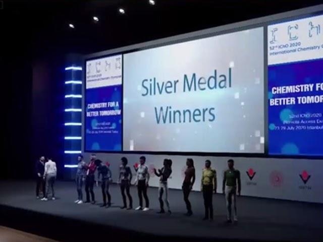 Siswa Indonesia Raih 4 Medali di Olimpiade Kimia Internasional 2020, Istanbul Turki