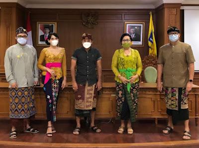 Santy Sastra, Santy Sastra Public Speaking, Juri Jegeg Bagus Kabupaten Badung 2020 , Duta Pariwisata dan Budaya Kabupaten Badung 2020