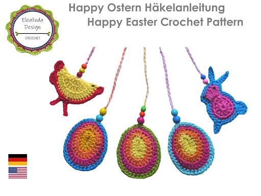 """Ebook """"Happy Ostern"""" Osterdeko +++NEU+++"""