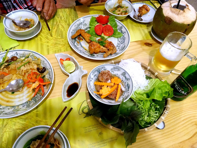 Dinner Chao Em! Viet Bistro in Ben Thanh, Ho Chi Minh City