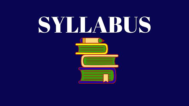 UGC NET | SYLLABUS 2020