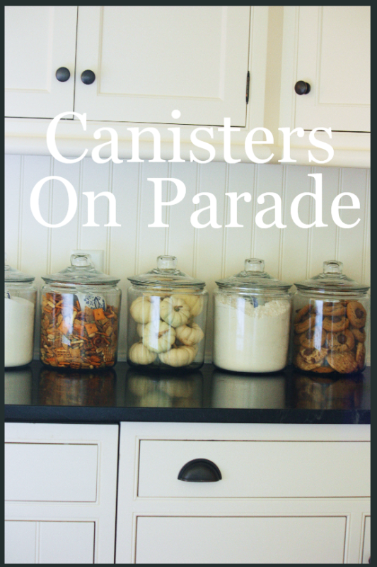 CANISTERS ON PARADE - StoneGable
