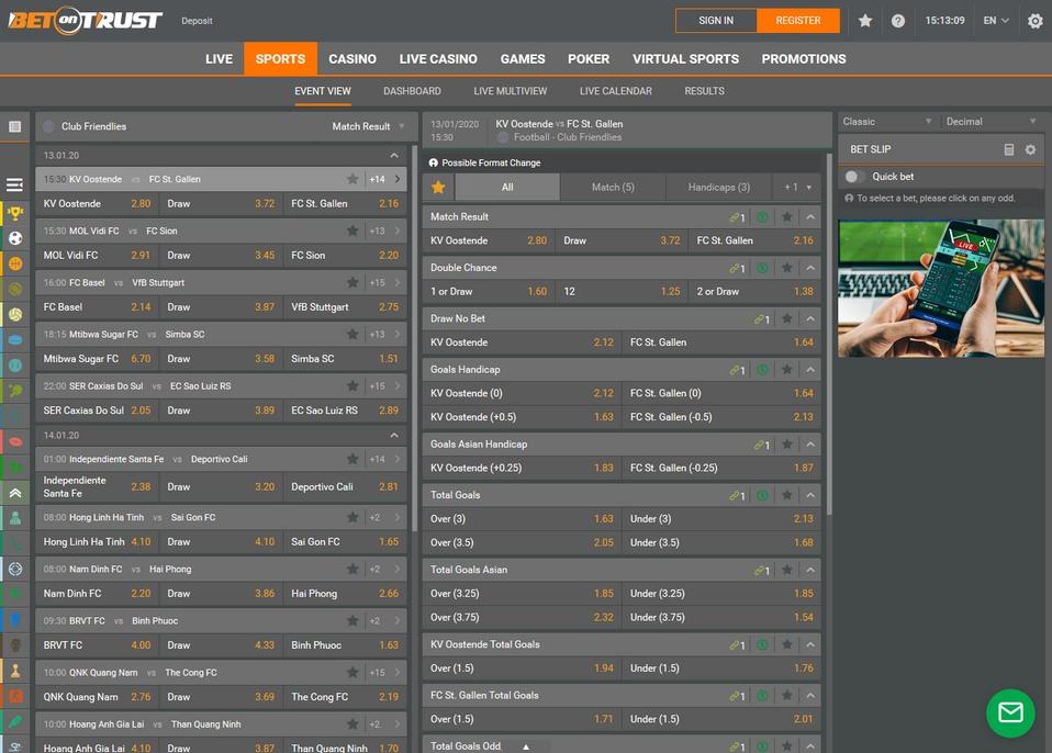 BetonTrust Screen