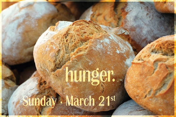 Bread Loaves for Hunger Sunday