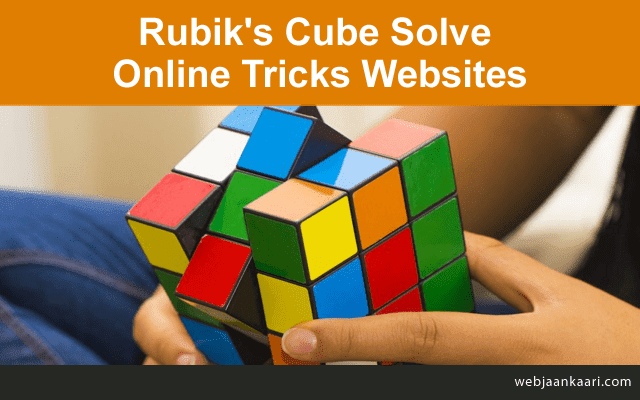 Which is the best method to solve the Rubik's cube for sites