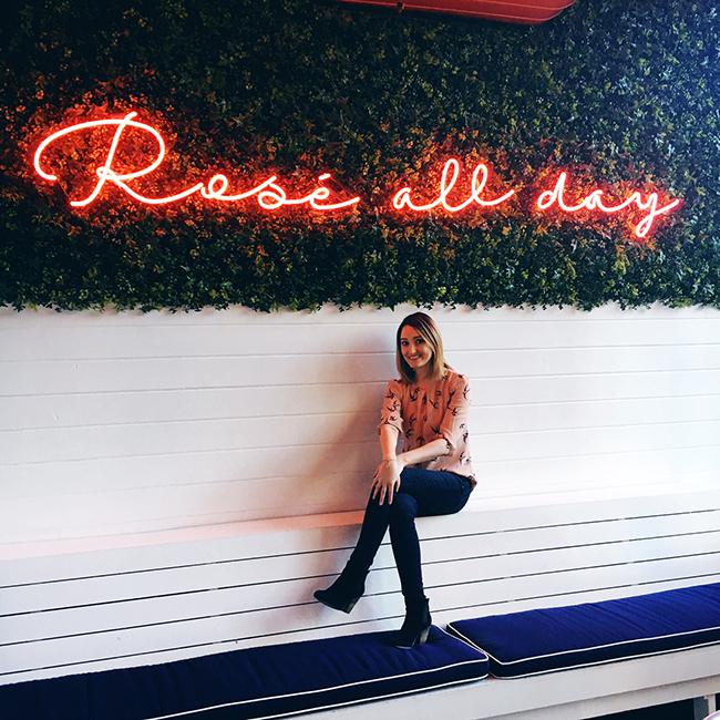 Rosé Al lDay: The Hampton Social in Chicago