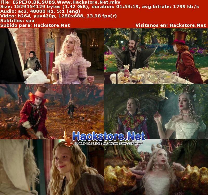 Capturas de Alicia a través del espejo (2016) Blu-Ray RIP HD Subtitulada