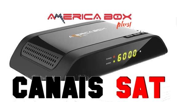 Americabox S105 + Plus Nova Atualização V1.33 - 06/10/2019