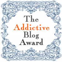 Addictive Blog Award, September 2012