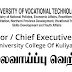 Vacancy In University Of Vocational Technology