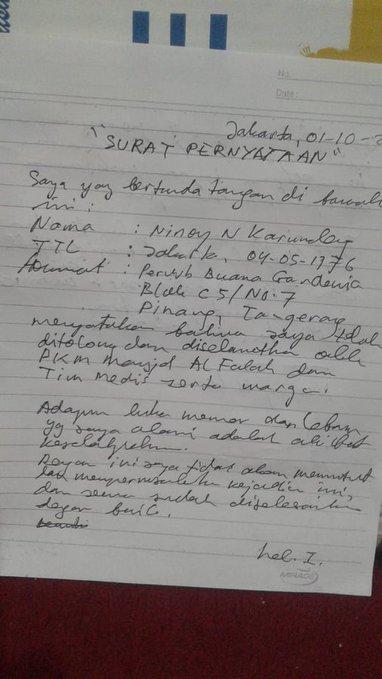 "Sebelum Putar Balikkan Fakta, Ninoy Ternyata Tulis Surat ""Ditolong Masjid"""