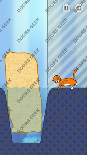 Hello Cats Level 3 Solution, Cheats, Walkthrough 3 Stars for Android and iOS