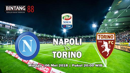 Prediksi Skor Napoli vs Torino 06 Mei 2018