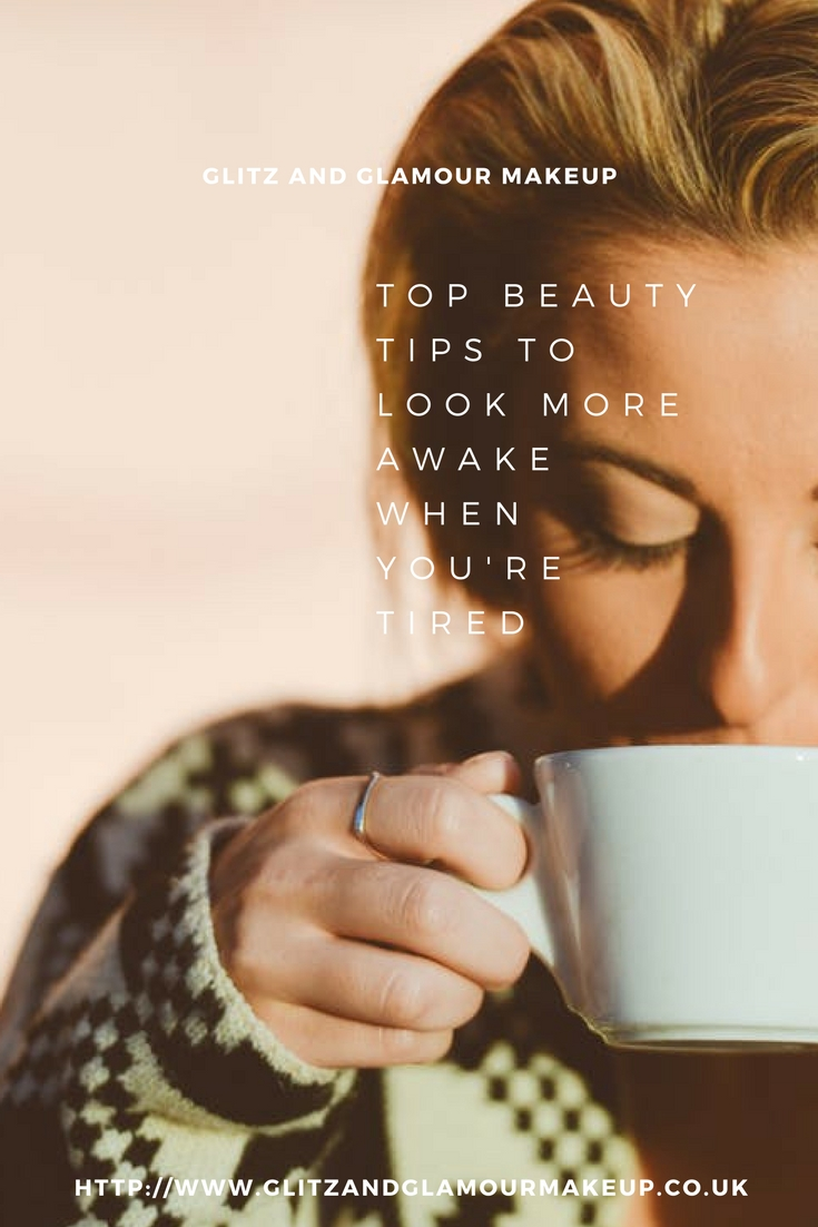 look more awake when you're tired