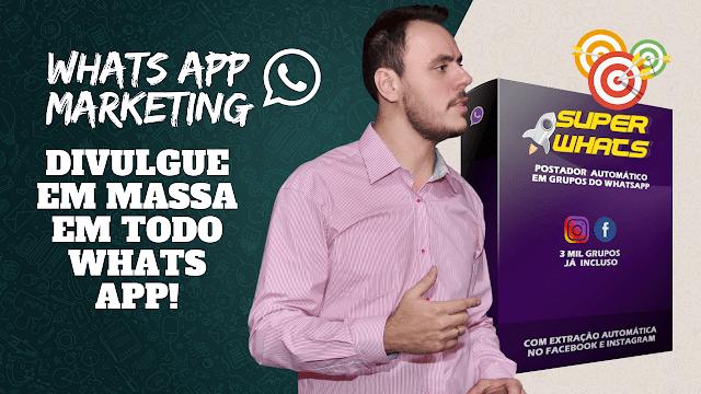 Como divulgar em massa no Auto Whatsapp Marketing