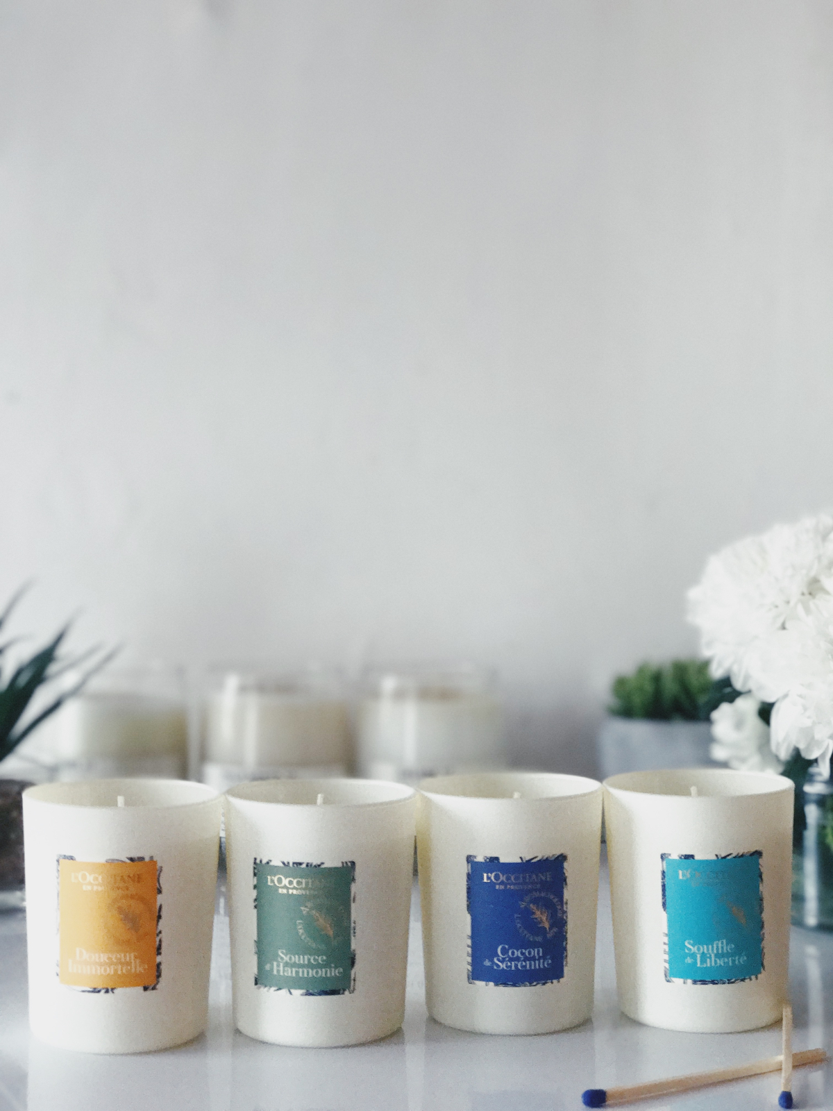 L'Occitane Art de Vivre Candles