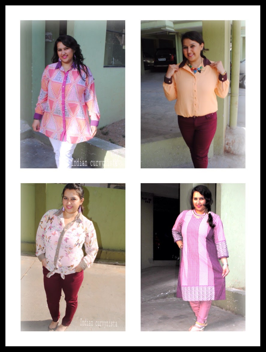 1d5c44bb9006 We bring you the sheer summer Formal Casual Shirts in collaboration with  AMYDUS- A Plus Sized Clothing Brand.