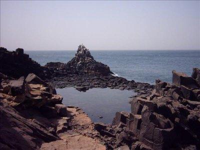 Tourisme, Cap, Manuel, paysage, environnement, végétation, chute, cascade, montagne, roche,  île, océan, LEUKSENEGAL, Dakar, Sénégal, Afrique