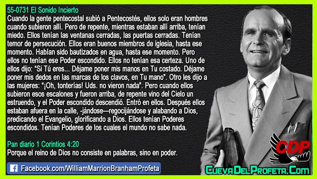 Ellos tenían Poderes escondidos de los cuales el mundo no sabe nada - William Branham en Español