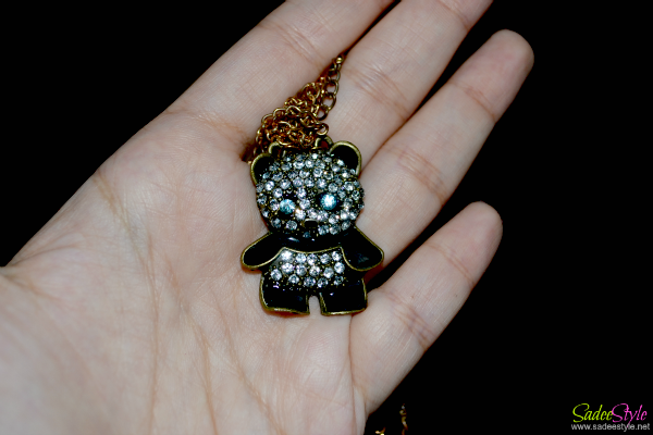 Sweet Fashion Syle Rhinestone Panda
